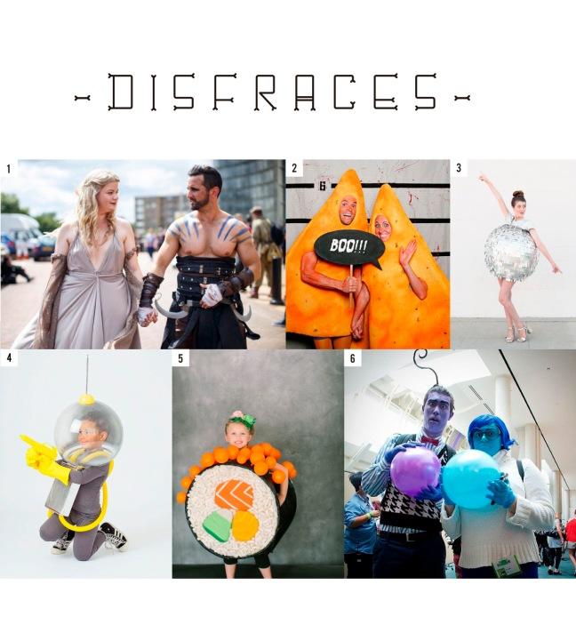 H disfraces